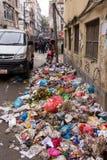 Trash in Kathmandu Stock Images