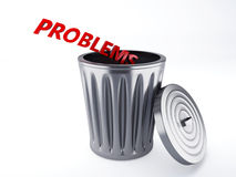 Trash problems Royalty Free Stock Photography