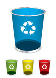 Trash recycle bin Stock Photography