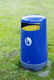 Trash for Recycling in a Park Stock Image