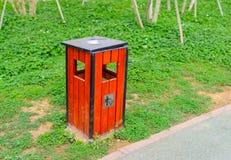 Trash roadside Stock Images
