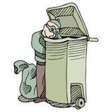 Trash Robber Stock Image