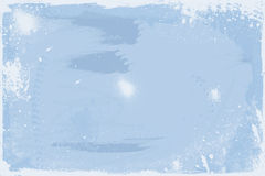 Trash style - winter. Background with winter/blue colors Stock Photo