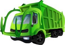 Trash truck. Vector illustration Stock Images