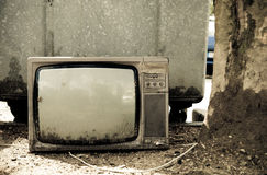 Trash TV Royalty Free Stock Images