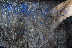 Trashcan μπλε περίληψη σύστασης υποβάθρου Στοκ φωτογραφίες με δικαίωμα ελεύθερης χρήσης