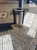 Trashcan στη Γερμανία στοκ φωτογραφίες