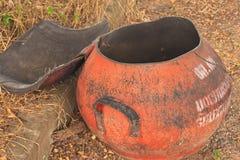 Trashcan Imagen de archivo libre de regalías