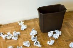 Trashcan imagem de stock