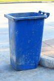 The trashcan Royalty Free Stock Photos