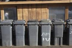 Trashcans Royalty-vrije Stock Foto's