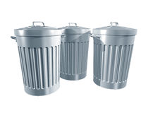 Trashcans Stock Photos