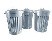 Trashcans Fotos de Stock