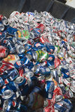 Trashed Cans. Heap of trashed cans Royalty Free Stock Images
