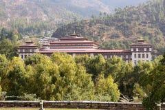 Trashi Chhoe Dzong, Thimphu, Bhutan Stock Photography