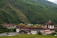 Trashi Chhoe Dzong, Thimphu, Bhutan Royalty Free Stock Photos
