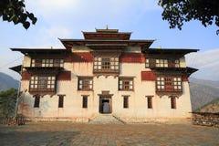 Trashigang Dzong Royalty-vrije Stock Afbeeldingen