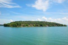 Trasimeno Lake Maggiore Island Stock Images