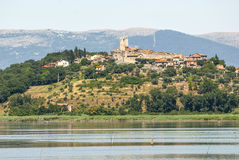 Trasimeno Lake Royalty Free Stock Photos