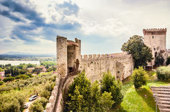 Trasimeno lake, Umbria, Italy. Royalty Free Stock Photo