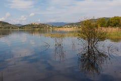 Trasimeno lake in Umbria Stock Photos