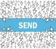 Trasmetta il email Immagine Stock Libera da Diritti