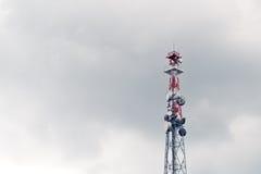 Trasmettitore dell'antenna di GSM Fotografie Stock
