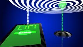Trasmettitore dell'illustrazione di concetto di Wifi Immagine Stock Libera da Diritti
