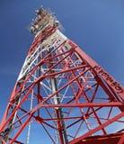 Trasmettitore di telecomunicazione Fotografia Stock