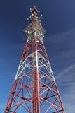 Trasmettitore di telecomunicazione Fotografia Stock Libera da Diritti