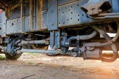 Trasmissione d'acciaio del metallo dell'albero motore per le applicazioni giranti Fotografia Stock Libera da Diritti
