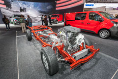 Trasmissione del camion di Nissan Fotografia Stock