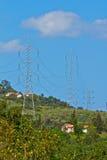 Energia elettrica Fotografia Stock