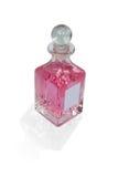 Trasparente fragrante di blossum rosa immagine stock
