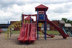 Trasparenza del campo da gioco per bambini Immagini Stock Libere da Diritti