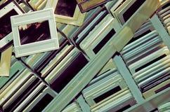 Trasparenze diapositive dell'annata Fotografie Stock Libere da Diritti