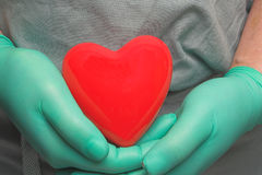 Trasplante de corazón imagenes de archivo