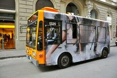 Trasportation public en Italie images libres de droits