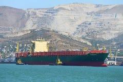 Trasportatore del contenitore del mare Fotografie Stock Libere da Diritti