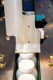 Trasportatore del meccanismo di stampa Fotografie Stock