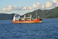 Trasportatore dell'yacht di Spliethoff Dolfijngracht Fotografie Stock Libere da Diritti