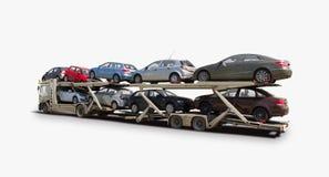 Trasportatore di automobile Immagini Stock