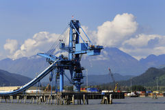 Trasportatore di carbone voluminoso Immagine Stock