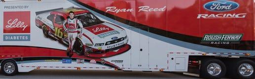 Trasportatore di Ryan Reed NASCAR Immagini Stock Libere da Diritti