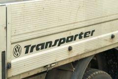 Trasportatore Van di Volkswagen fotografie stock