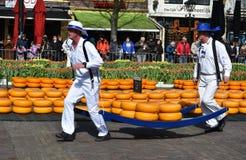 Trasportatori del formaggio Immagine Stock Libera da Diritti