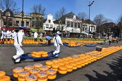 Trasportatori del formaggio Fotografie Stock