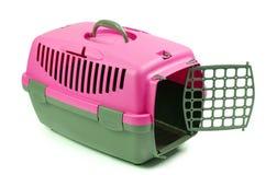 Trasportatori per il gatto o il cane Immagini Stock Libere da Diritti