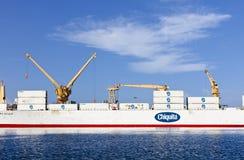 Trasporti in container di Chiquita Immagine Stock Libera da Diritti