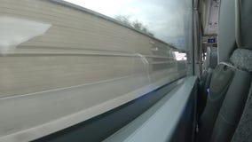 Trasporti il giro Londra Inghilterra, il turismo, la città, il trasporto, il bus, il giro, il trasporto, il viaggio, traffico stock footage